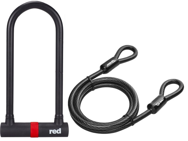 Red Cycling Products Secure U-Lock Bügelschloss-Set
